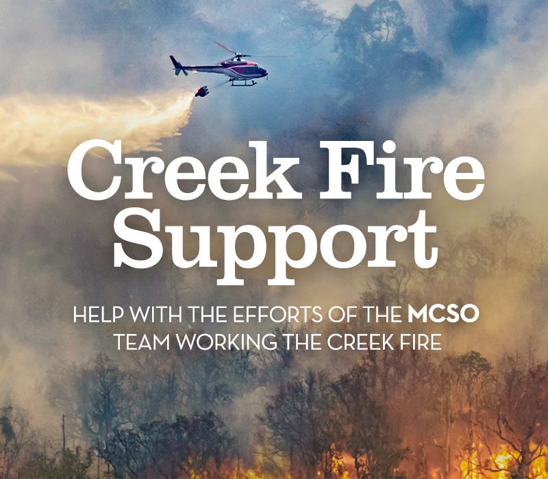 Creek Fire Support