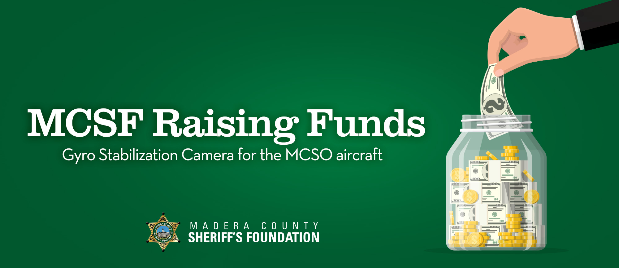 Raising Funds for MSCO Aircraft