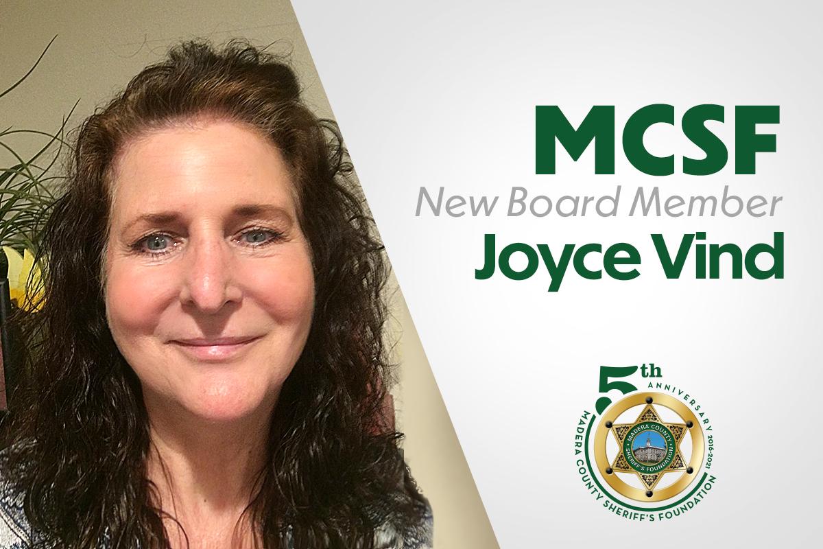Joyce Vind added as new Board Member