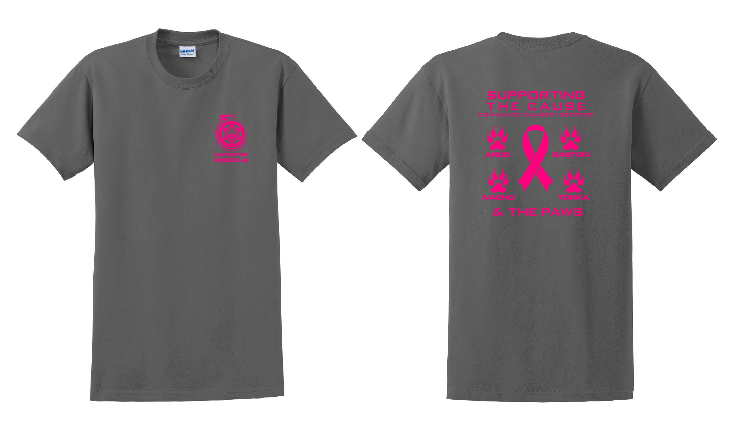 Limited Edition Cancer Awareness T-shirts